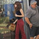 Danielle Panabaker- Films Her Show in Beverly Hills 6/20/2016 - 454 x 661