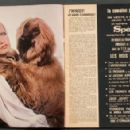 Twiggy - Cine Tele Revue Magazine Pictorial [France] (28 September 1972) - 454 x 294