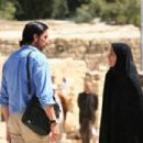 Freidoune Sahebjam (Jim Caviezel) and Zahra (Shohreh Aghdashloo) in 'The Stoning of Soraya M.' All photos are Courtesy of MPower Pictures.