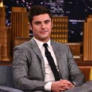 """Zac Efron Visits """"The Tonight Show Starring Jimmy Fallon at Rockefeller Center on August 17, 2015 in New York City"""