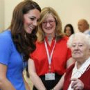 Kate Middleton at the 'Aiming High' Olympics event (July 19)