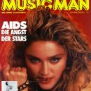 Madonna - Music Man Magazine Cover [Austria] (September 1985)