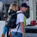 Sophie Turner and Joe Jonas – Arrives at Miami Airport