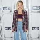 Olivia Holt – Visits AOL BUILD Series in New York City