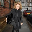 Kylie Minogue - Leaves Her Management Offices In London, 2009-12-07