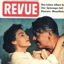 Clark Gable, Ava Gardner - Revue Magazine Cover [Germany] (6 November 1954)