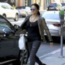 Michelle Rodriguez in Ripped Jeans Out Shopping in Beverly Hills - 454 x 608