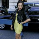 Ashley Madekwe - Mercedes-Benz Fashion Week At Bryant Park On September 13, 2009 In New York City