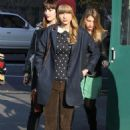 Taylor Swift leave her hotel separately in New York City on December 4