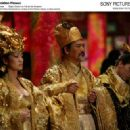 Left: Gong Li as the Empress; Right: Chow Yun Fat as the Emperor. Photo by: Ms. Bai Xiaoyan © Film Partner International Inc. Courtesy of Sony Pictures Classics, all right reserved.