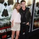 Special Fan Screening of CHERNOBYL DIARIES at The Arclight in Hollywood, California on May 23. Jesse McCartney and Cougar girlfriend Eden Sassoon