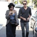 Vanessa Hudgens and Austin Butler seen getting gas before running some errands in Studio City, California on February 25, 2012