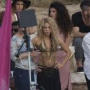 Shakira- Commercial Shooting in Spain - 454 x 682