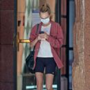 Cara Delevingne – heads to a medical building in Beverly Hills