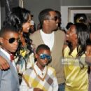 Puff Daddy and Kim Porter - 454 x 304