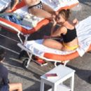 Emma Watson – In bikini on holiday in Positano – Italy