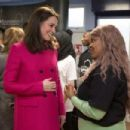 Prince Windsor and Kate Middleton visits the Positive Youth Foundation - 454 x 303