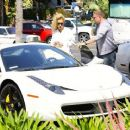 Iggy Azalea is spotted behind the scenes at a production studio on April 9, 2015 in Studio City, California