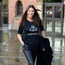 Lisa Snowdon – Leaving Hits Radio Station in Manchester - 454 x 702