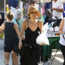 Roselyn Sanchez – Shopping at the Farmers Market in Los Angeles - 454 x 681