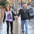 Harry Judd and Izzy Johnston