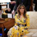 Melanie Trump – Meet Indian Prime Minister Narendra Modi in Washington - 454 x 303