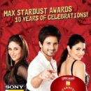 Shahid Kapoor Pictures from Max star dust awards 2012
