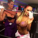 Jodie Marsh In A Sheer Bra On Twitter