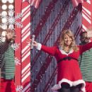 Mariah Carey Gets in the Holiday Spirit for Disney