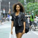 Malaika Firth at Casting Call for the Victoria's Secret Fashion Show 2018 in NY - 454 x 454
