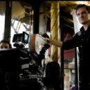 Quentin Tarantino on the set of his film Inglourious Basterds. Photo: Francois Duhamel/ TWC 2009.
