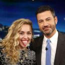 Miley Cyrus at Jimmy Kimmel Live! in Los Angeles - 454 x 681