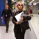 Rita Ora – Jets off out of Milan