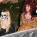 Emma Roberts and Evan Peters – Kate Hudson's Annual Halloween Bash in Pacific Palisades 10/28/ 2016 - 454 x 303