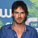 Ian Somerhalder- CW Stars Out In New York City - 426 x 600