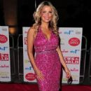 Melinda Messenger - Children's Champions 2010 Awards At The Grosvenor House Hotel, On March 3, 2010 In London, England