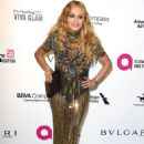 Paulina Rubio – 2018 Elton John AIDS Foundation's Oscar Viewing Party in West Hollywood