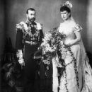 Queen Mary and King George V - 453 x 594
