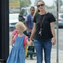 Rebecca Gayheart and her daughter Billie Dane spotted out and about in West Hollywood, California on September 8, 2014 - 418 x 594
