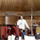 Paul Gemignani at Sweeney Todd Cast album Recording - 454 x 690