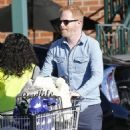 Tyler Ferguson does some solo grocery shopping at Whole Foods in West Hollywood, Calfiornia on January 5, 2015 - 454 x 551
