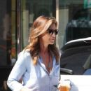 Cindy Crawford with Her Son out in New York City