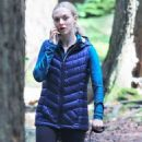 Amanda Seyfried – Filming 'The Art of racing in the Rain' in Vancouver