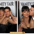 Katie Holmes & tom cruise from the 2012 Vanity Fair Oscar Party Booth