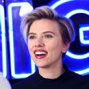Scarlett Johansson – Rough Night Photocall in New York - 454 x 521