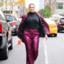 Iskra Lawrence – Arrives at the Glamour Women of the Year Summit in New York