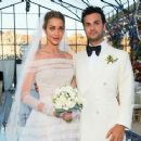 Ana Beatriz Barros and Karim El Chiaty- wedding ceremony in Mykonos, Greece - 454 x 363