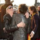 The Rolling Stones: Exhibitionism' - Private View - Saatchi Gallery on April 4, 2016 in London, England - 454 x 330