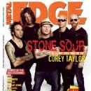 Corey Taylor, James Root, Roy Mayorga - Metal Edge Magazine Cover [United States] (October 2006)
