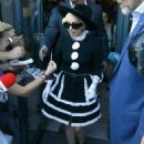 Lady Gaga: showed up in Bucharest